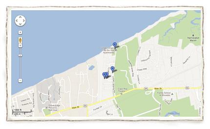 beach-access-cottage-map