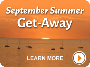 September Summer Get Away on Cape Cod