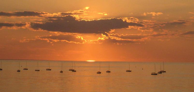 Summer in September at Linger Longer by the Sea